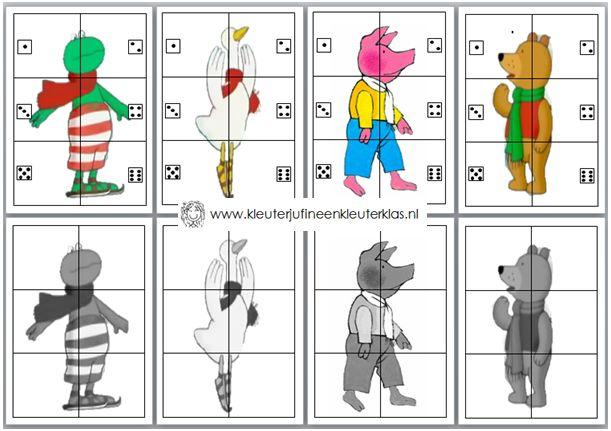 Jumbolino Kikker in de kou | Thema WINTER. Download het bestand op www.kleuterjufineenkleuterklas.nl