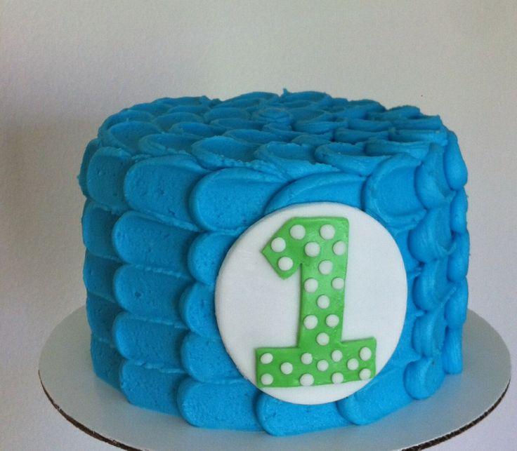 Blue Smash Cake- Erin Renee McCracken- My Darling Confections