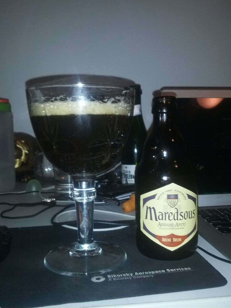 2013/08/11 - Maredsous - Brune 8 Bruin - Belgian Strong Ale - 8%ABV