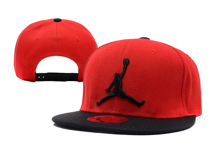 Jordan Brand Caps Red New Era 9FIFTY Snapback Hats 051 8240! Only $8.90USD