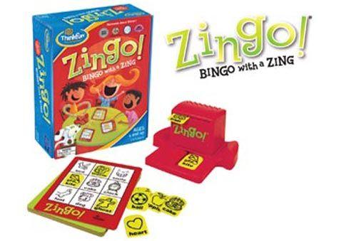 ThinkFun Zingo! Game, picture bingo - $29.90 plus postage from chalk.com.au #speechtherapy #educationaltoys