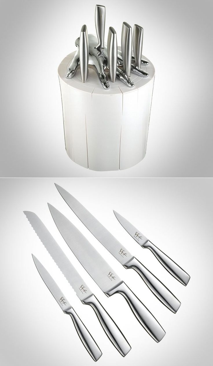 30 best knife images on pinterest kitchen knives home chef and there is nothing wrong with a little whimsy in the kitchen and this knife set definitely does the trick