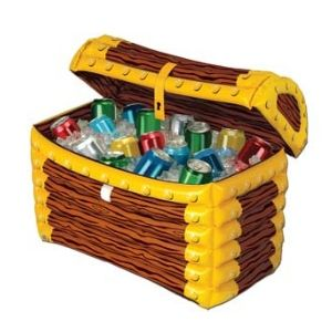 Inflatable Treasure Chest