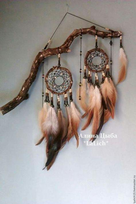 Atrapasueños Project Ideascraft Ideasprojectsdreamcatchers Diydream Catchersnative American Decoramerican Indian Decornature