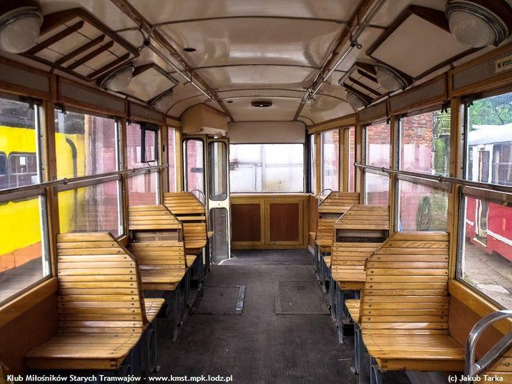 Znalezione obrazy dla zapytania stare tramwaje wnętrze
