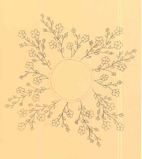 International Embroidery Patterns, floral embroidery charts