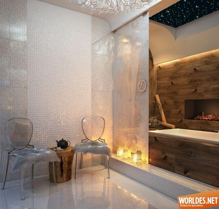 Роскошные ванные комнаты фото 3