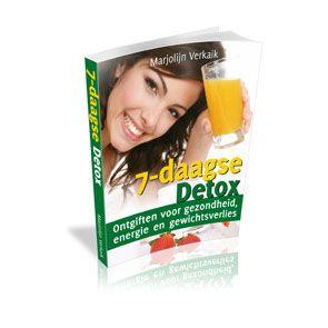 7-Daagse Detox - Marjolijn Verkaik - Gezondheid - eBook - Geef je lichaam de gezondheid die het verdient door één week een Detox Voedingsprogramma te volgen.
