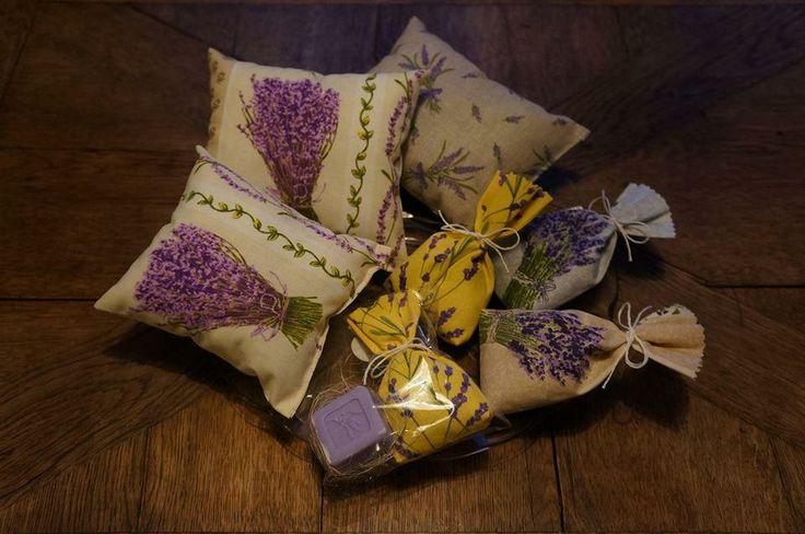 Voňavé levandulové pytlíčky od paní Marie Pospíšilové