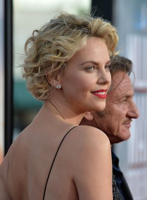 More Pics of Charlize Theron Short Curls