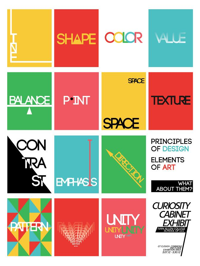 What Are Design Principles In Art : Elements and principles art projects google search