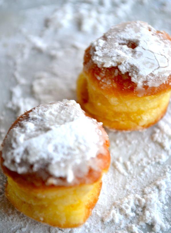 Zelfgemaakte donuts...