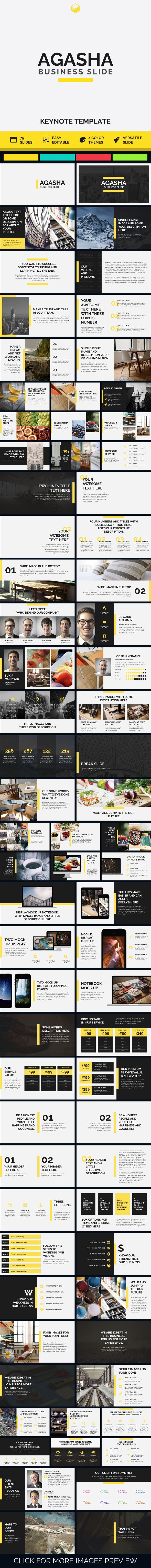 AGASHA - Business Keynote - #Business #Keynote Templates Download here: https://graphicriver.net/item/agasha-business-keynote/19678982?ref=alena994