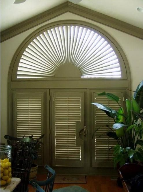 23 Best Arch Window Covering Images On Pinterest Blinds