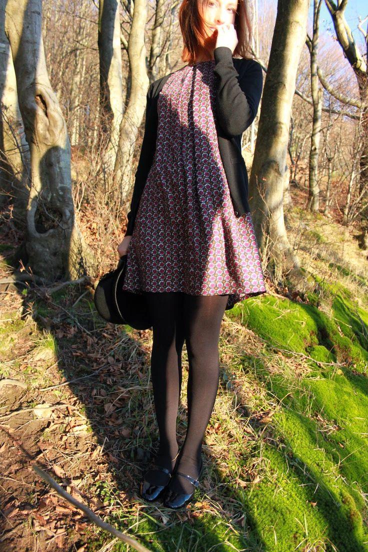 Alessia Lattementa: Handmade shift dress