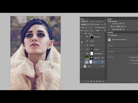 Edicion de color (photoshop, intro para conseguir colores fashion) - YouTube