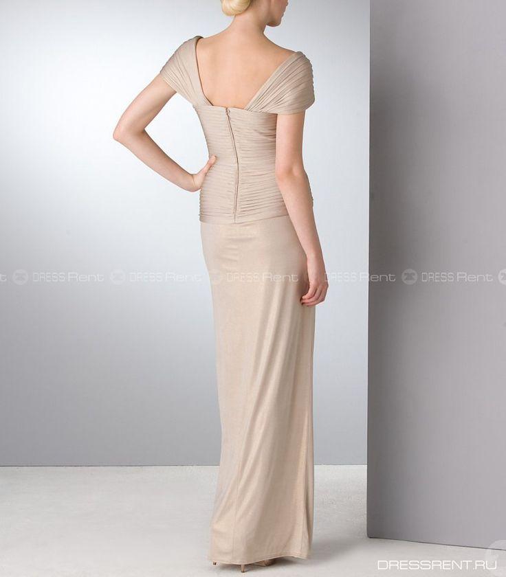 Платье - Tadashi Shoji  | Gold Long Gown