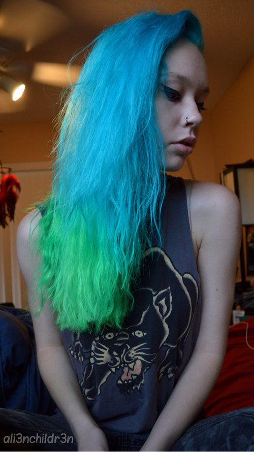 Brilliant 28 Best Neons Wed Dye For Images On Pinterest Colorful Hair Hairstyles For Men Maxibearus