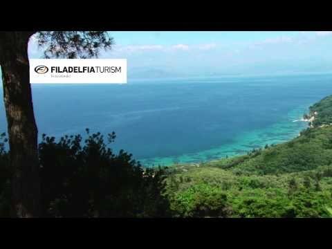 Chlomos, Corfu - Traditional Village - Vacante in Grecia prin Filadelfia Turism - YouTube
