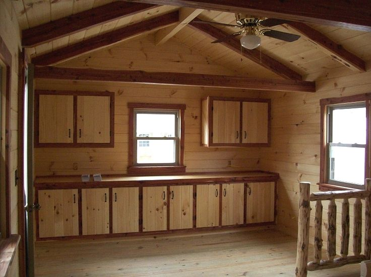 Small Cabin Interiors Hunter Log Cabin Cabin Fever