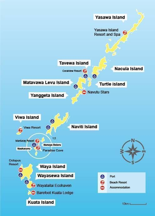 Yasawa Island Map Yasawa Map Fiji.The Ultimate Guide to the Fiji Islands. Fiji