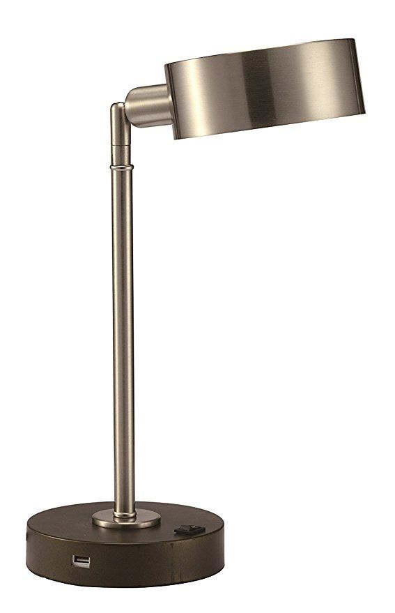 Major Q Elegance Led Usb Bedroom Office Table Desk Lamp Modern Light With Smart Functional Port Ambient Living Dwelling Pivot Modern Desk Lamp Lamp Desk Lamp