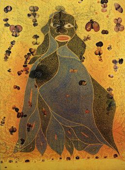 Chris Ofili's The Virgin Mary (of Dung)