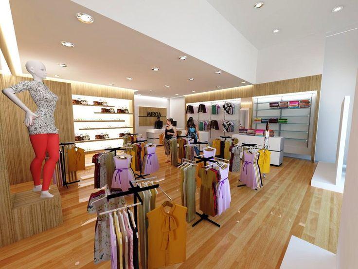 Projeto e Execução, loja de roupa feminina localizada no shopping Cidade de Sorocaba interior de São Paulo com uma área total de 102 mts quadrados de área útil no ano de 2014 foi realizado a troca de piso, instalação de...