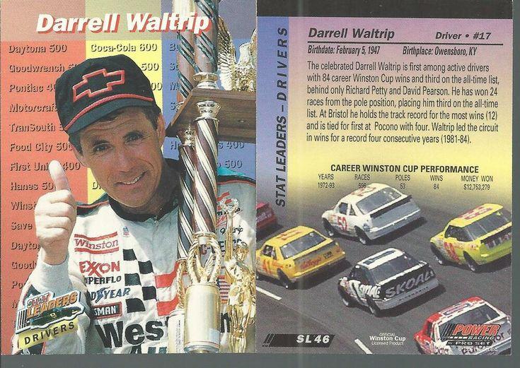 1994 ProSet Power Darrell Waltrip SL48 Racing Driver Auto