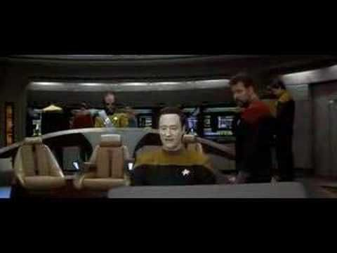 Data's Life Forms Song. Data copes with his new emotions chip in Star Trek: Generations. One of my favorite Star Trek moments