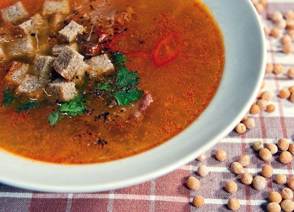 гороховый суп с копченостями от www.dunduk-culinar.ru