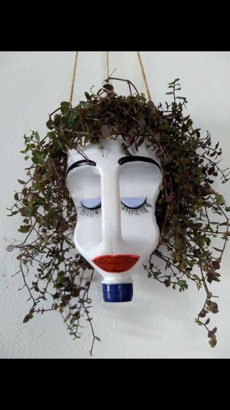 Checkout This Planter Made From A Milk Container Kid