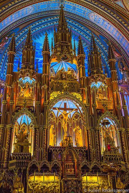 Basilique Notre-Dame de Montréal | Flickr: partage de photos!