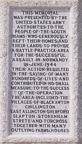 Slapton Sands memorial by JamezSA www.bythedart.tv #Dartmouth