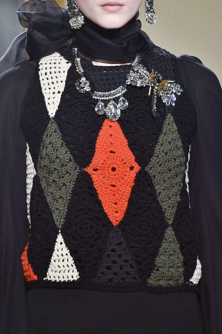 Les Copains at Milan Fashion Week Fall 2015 - Details