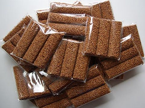 Alegrias de amaranto sabor chocolate / Cómo hacer alegrias de amaranto