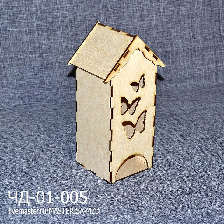"Купить ЧД-01-005. Чайный домик ""Три бабочки"". - бежевый, чайный домик"
