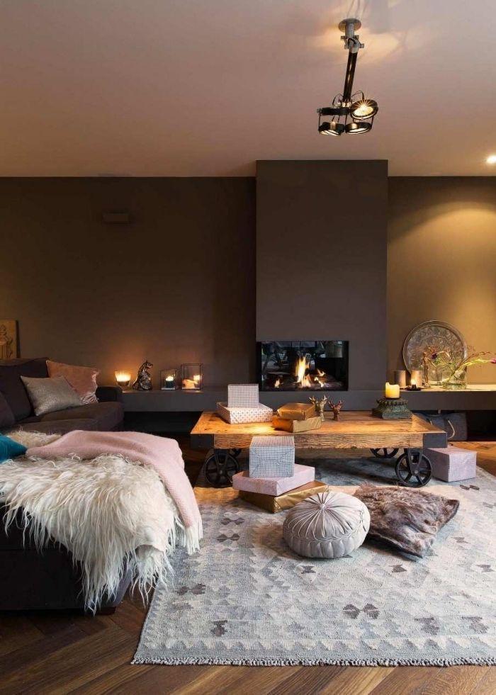 ▷ 1001 + idées déco salon cocooning de style hygge   Salon moderne
