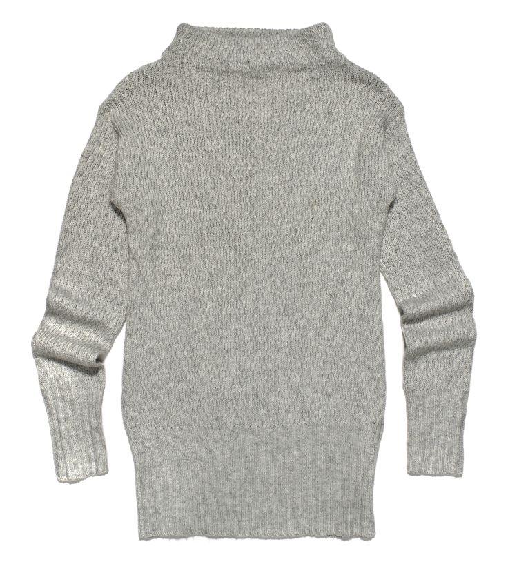 ft-76, szary gładki sweter