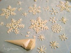 Snowflakes in the making | by IcingDreams