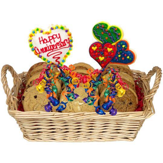 Happy Anniversary Combination Basket