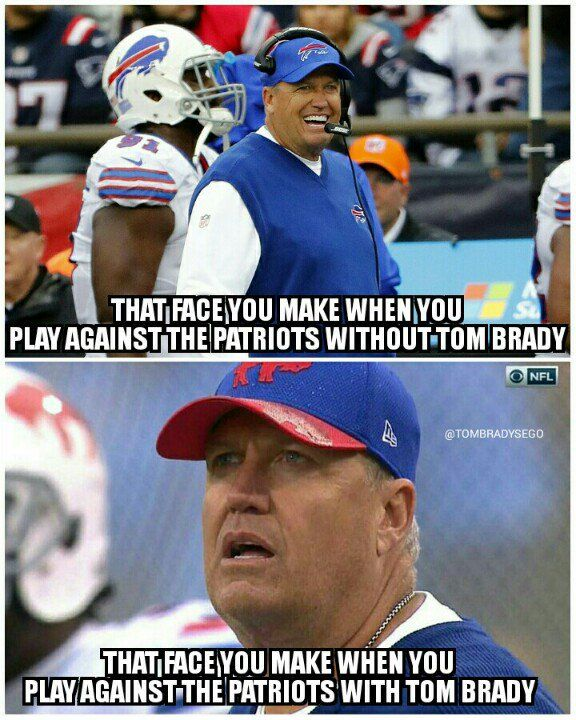 Who's laughing now, Buffalo? Patriots@Bills 41-25 #revenge #gopats