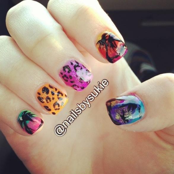 Cute Nail Designs For Spring Break Spring break na...