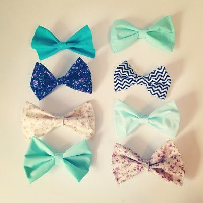 DIY Hair Bow Tutorial! They make for awesome gifts and spice up every outfit.  elfsacks