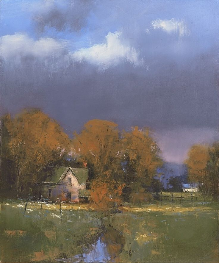 Oregon Autumn by Romona Youngquist Oil ~ 20 x 16