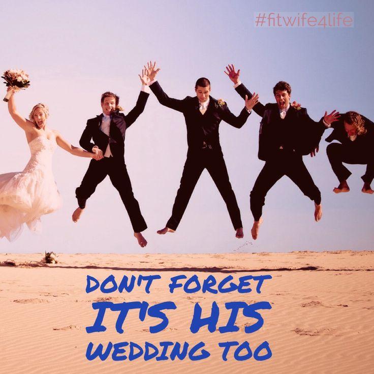 Don't forget to get your fiance's input. It IS his wedding too. #bridalicious #fitwife4life #bridezilla #bridechilla #manwedding #wedding #teamwork @fitwife4life