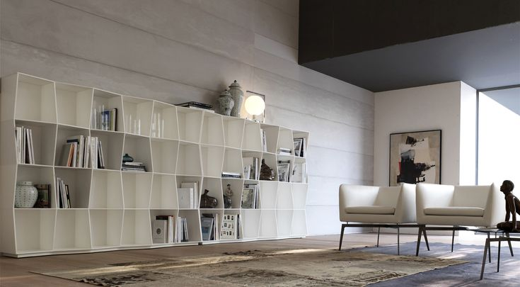 PADY_armchair & WAVY_bookcase
