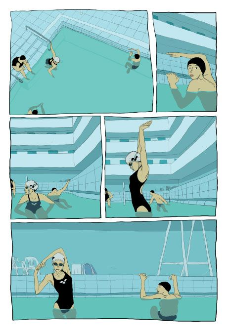 17 Best Images About Art Swimmers On Pinterest Swim