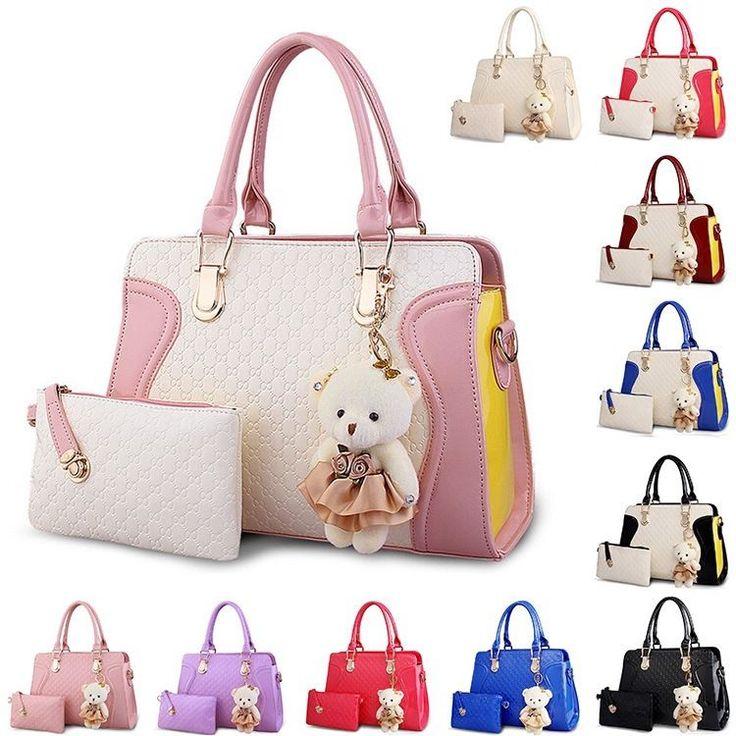 Woman Handbag Lady Satchel Fashion Purse Shoulder Tote Embossed Messenger Bag