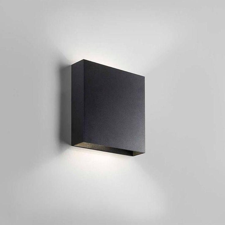 Compact lampe LED - sort